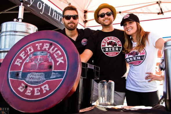 Red Truck Pouring Their Lineup at Vancovuer Craft Beer Week