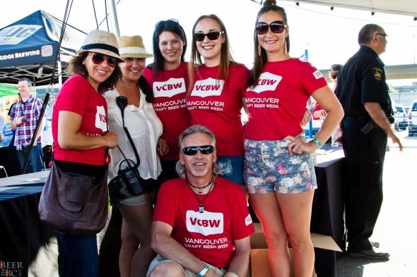 Vancouver Craft Beer Week Volunteers