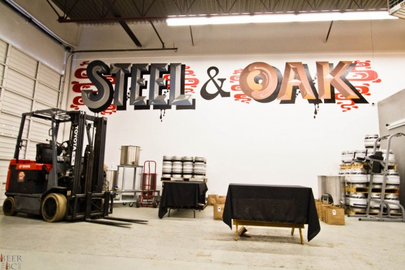 New Westminster's Steel and Oak Brewery