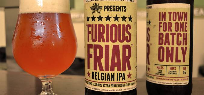 Dead Frog Releases the Furious Friar Belgian IPA – A new face for a past favourite!
