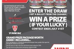 Win a Tour de Victoria VIP Experience with Spinnaker's Brewery