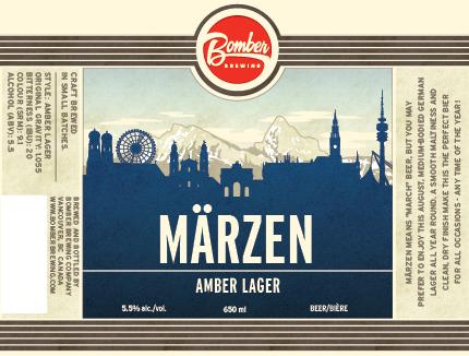 Bomber Brewing Marzen Attacks Seasonal Release