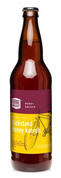 Fernie Brewing Kickstand Honey Kolsch