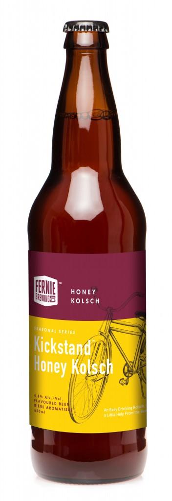 Fernie Brewing Kickstand Honey Kolsch