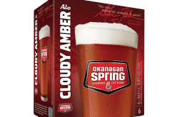Okanagan Spring Brewery Unveils Okanagan Spring Cloudy Amber Ale