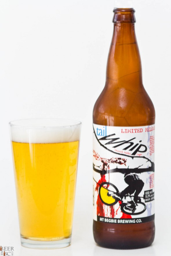 Mt Begbie Tail whip Helles Lager Review