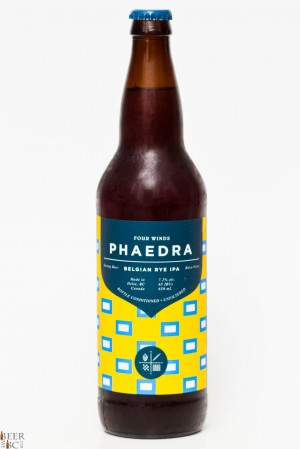 Four Winds Brewing Phaedra Rye IPA Review