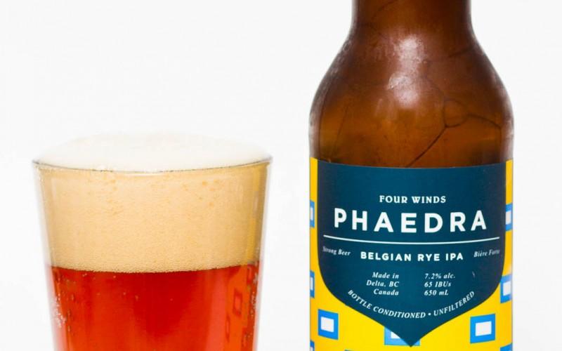 Four Winds Brewing Co. – Phaedra Belgian Rye IPA
