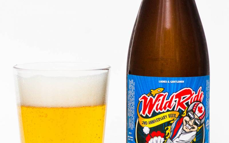 Parallel 49 Brewing Co. – Wild Ride 2nd Anniversary Belgian Strong Pilsner