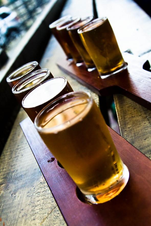 Prohibition Beer Tasting Flight