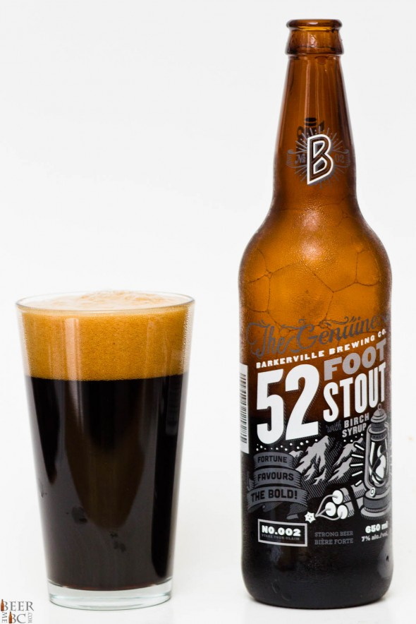 Barkerville Brewing Company - 52 Foot Stout Review