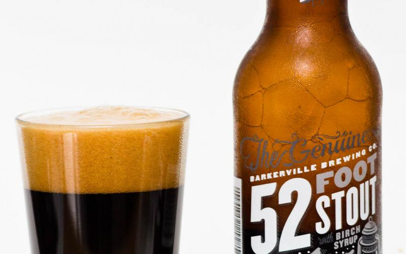 Barkerville Brewing Co. – 52 Foot Stout With Birch Syrup