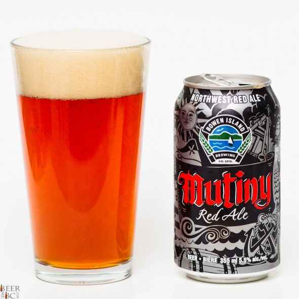 Bowen Island Mutiny Red Ale Review