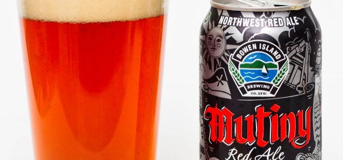 Bowen Island Brewing Co. – Mutiny Red Ale