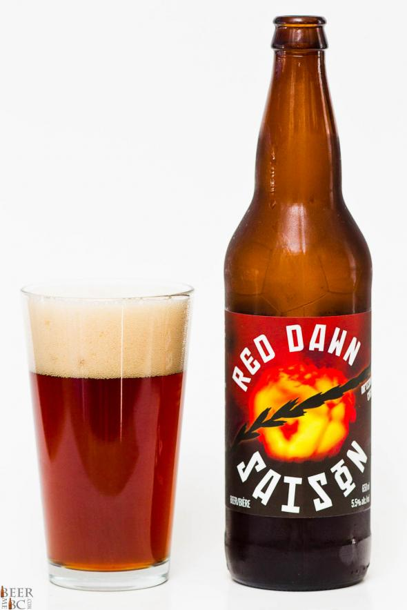 Cannery Brewing Co. – Red Dawn Saison Review