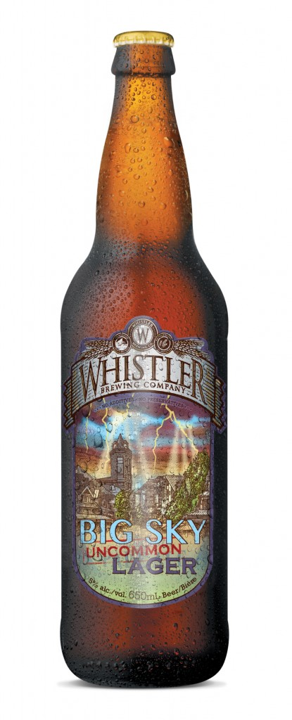 Whistler Brewing Big Sky Lager Release