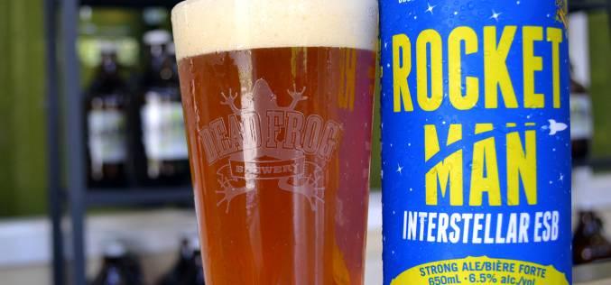 Rocket Man Interstellar ESB is Released from Dead Frog Brewery
