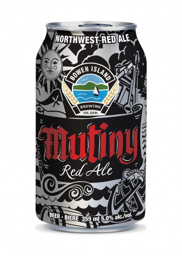 Bowen Island Mutiny Red Ale