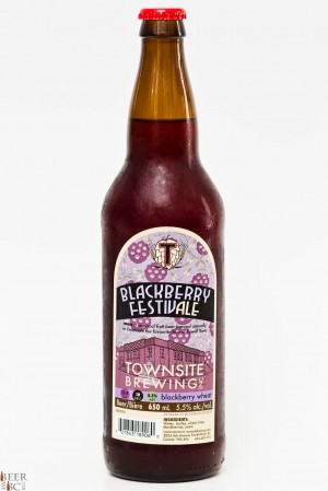 Townsite Brewing Blackberry Festofale Review 2014