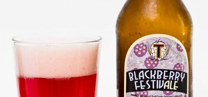 Townsite Brewing Inc. – Blackberry FestivAle Blackberry Wheat Ale (2014)