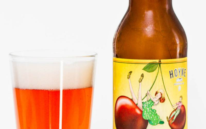 Hoyne Brewing Co. – Entre Nous Belgian Cherry Witbier