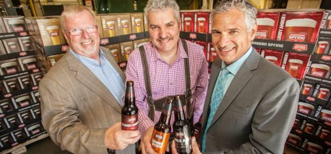 Sleeman expands Vernon Based Okanagan Spring Brewery