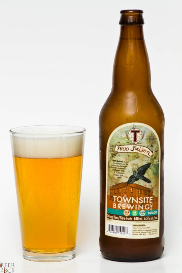 Townsite Brewing Inc. – 7800 Saison Review