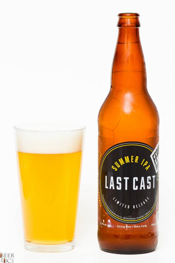 Fernie Brewing Co. – Last Cast Summer IPA Review