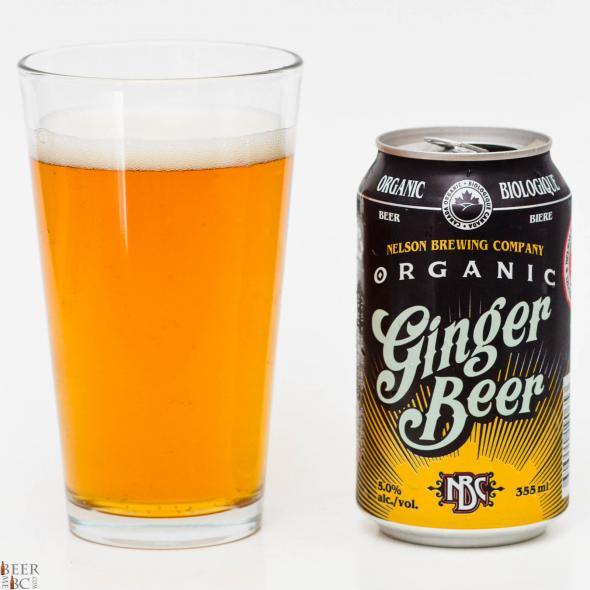 Nelson Brewing Co. – Organic Ginger Beer Review