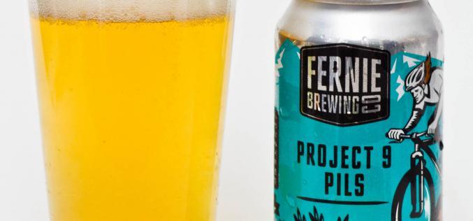 Fernie Brewing Co. – Project 9 Pilsner