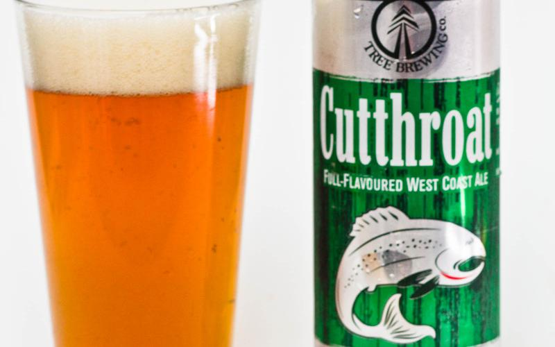 Tree Brewing Co. – Cutthroat  West Coast Ale