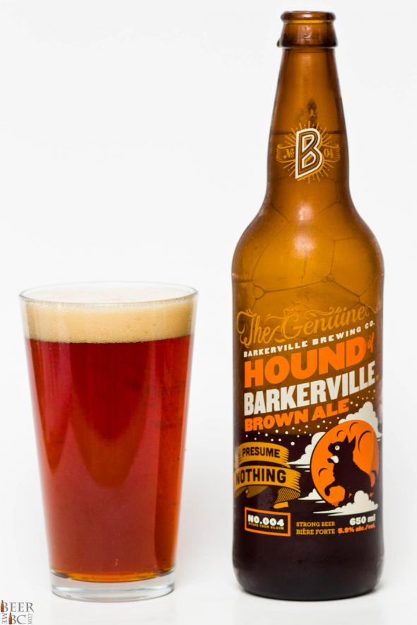 Barkerville Brewing Co. – Hound of Barkerville Brown Ale Review