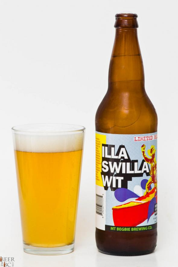 Mt Begbie Brewing Co. – Illa Swilla Wit Review