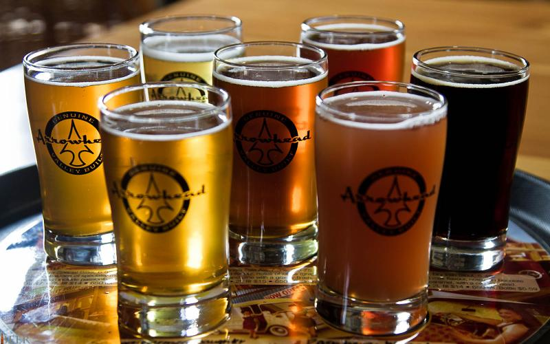 Invermere British Columbia's Craft Beer Choice is Arrowhead Brewing