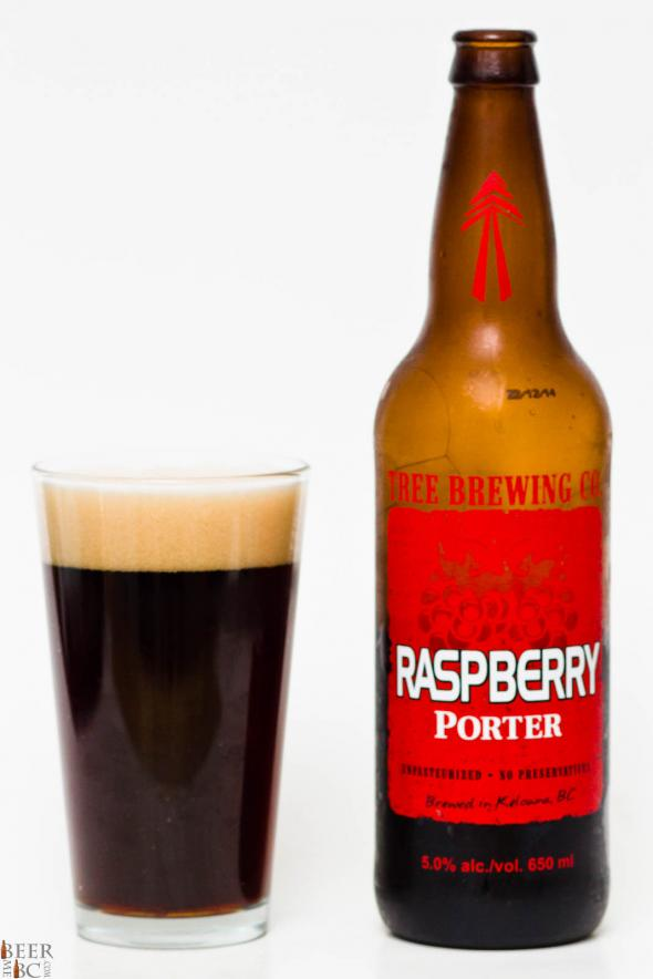 Tree Brewing Co. Raspberry Porter Review