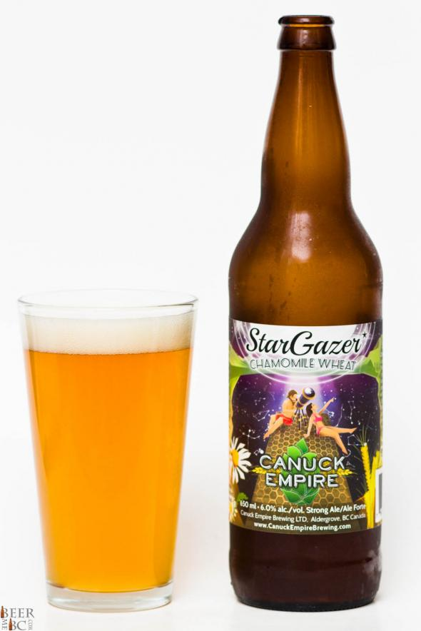 Canuck Empire Chamomile Wheat Ale Review