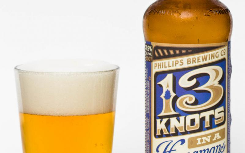 Phillips Brewing Co. – 13 Knots in a Hangman's Noose 13th Anniversary IPA W/ Hop Drop