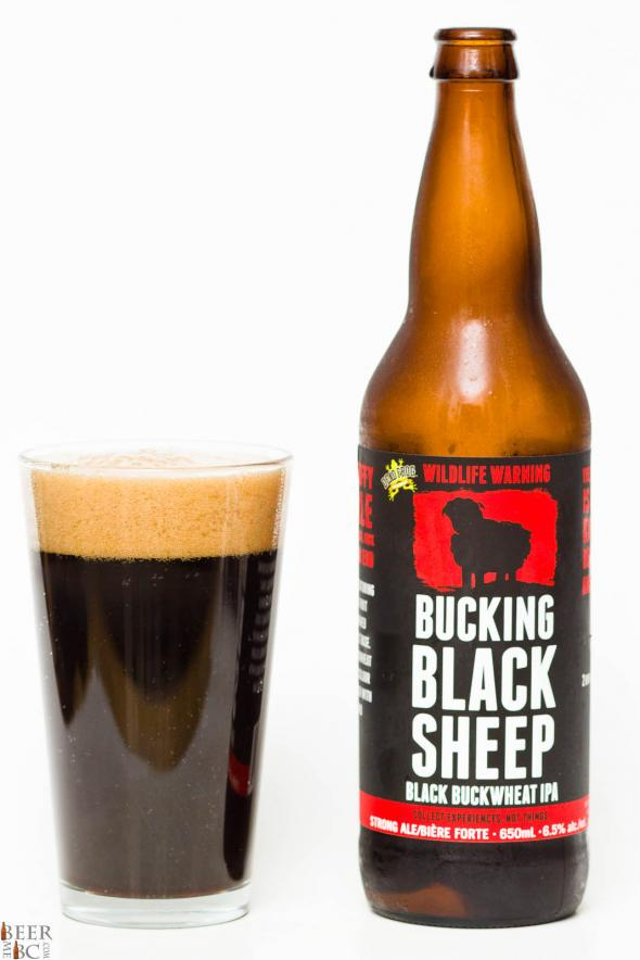 Dead Frog Brewery – Bucking Black Sheep Black Buckwheat IPA Review