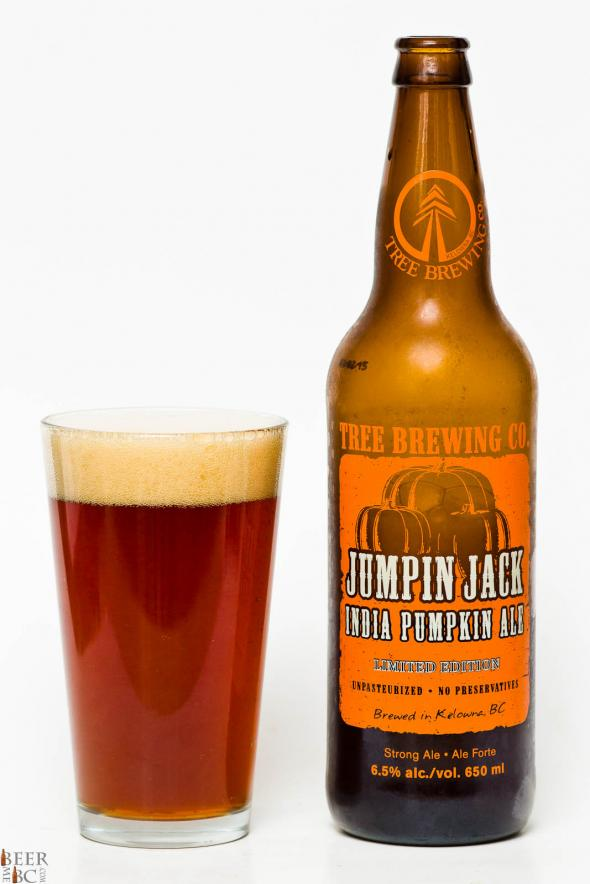 Tree Brewing Co. – Jumpin Jack India Pumpkin Ale Review