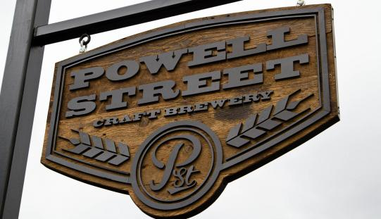 Powell Street Brewery Opens New, Larger Brewing Facility