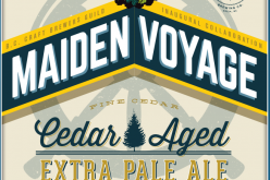 NEW BEER! The Maiden Voyage Cedar Aged Pale Ale
