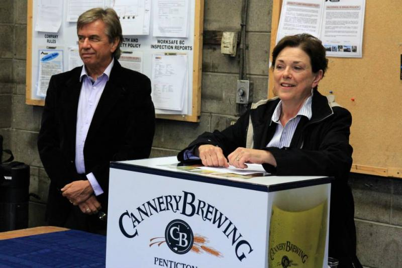 Cannery Brewing - New Penticton Brewery Groudbreaking Ceremony