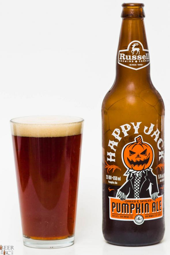 Russell Brewing Happy Jack Pumpkin Ale Review