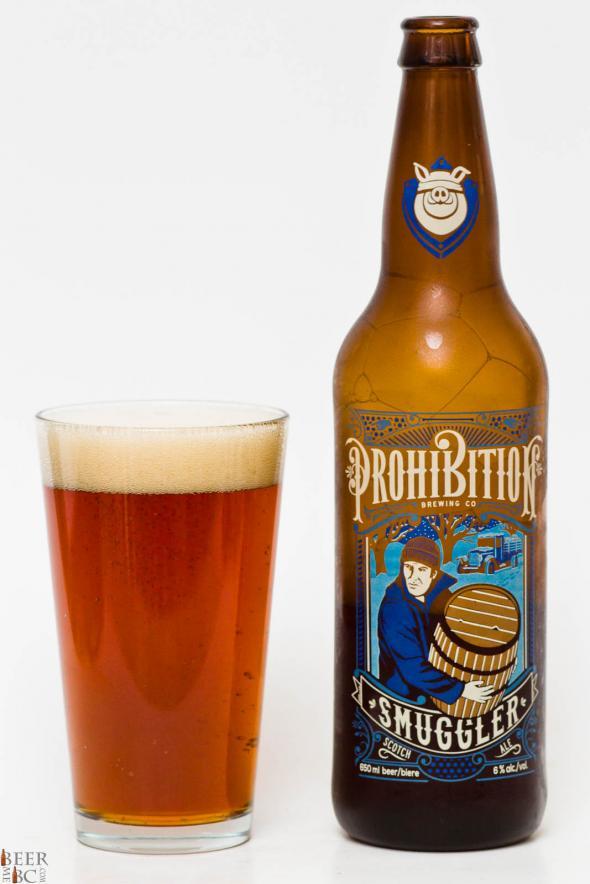 Prohibition Smuggler Scotch Ale Review