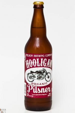 Nelson Brewing Co. - Hooligan Organic Pilsner Review