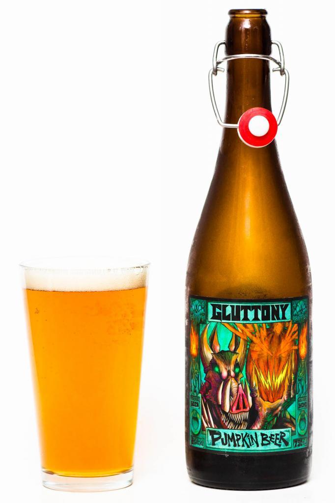 Scandal Brewing Co. 7 Deadly Sins Gluttony Pumpkin Bock Review