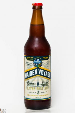 Maiden Voyage, BC Craft Brewers Guild Collaboration Cedar Aged Pale Ale Review