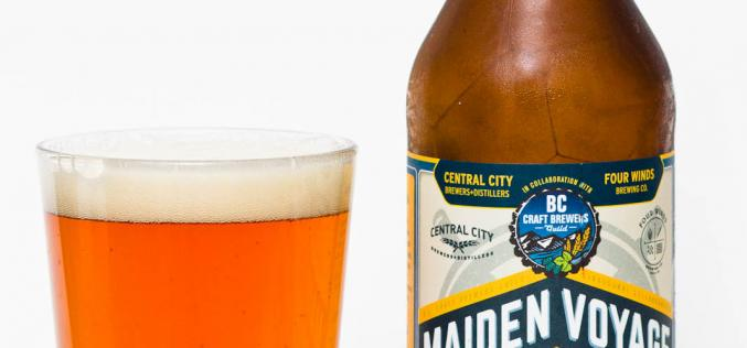 BC Craft Brewers Guild – Collaboration Maiden Voyage Ceder Aged Extra Pale Ale
