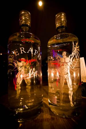 Central City Brewers & Distillers Seraph Gin & Vodka