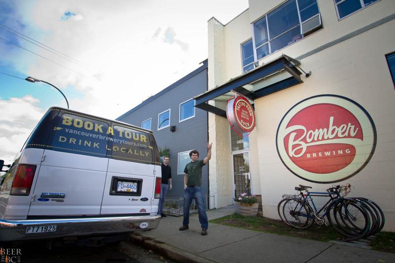 Vancouver Brewery Tours - Bomber Brewing